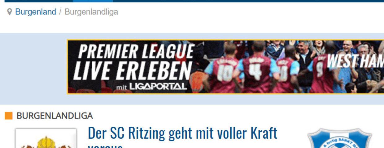 Ligaportal Spielbericht SV St. Margerethen